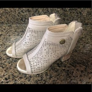 Kenneth Cole Reaction girls sandal booties